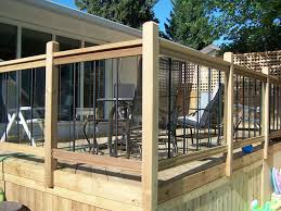 outdoor deck railings ideas. deck railing ideas | general fencing gates decks and railings pergolas arbors bridges . outdoor