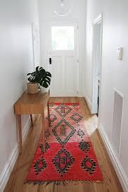 inside front door apartment. Bright Red Moroccan Floor Runner In Hallway Inside Front Door Entry By  Nouvelle Nomad Apartment U