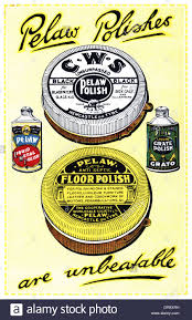 cws pelaw antique. Exellent Antique Advertisement For Pelaw Polishes  Stock Image Intended Cws Antique