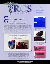 radiological care services cleaning rcs brochure middot company overview middot frequency case study