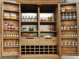 freestanding pantry ideas