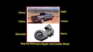 fix your horn the easy way chevy gmc silverado sierra suburban chevy gmc silverado sierra suburban yukon