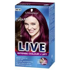Schwarzkopf Live Intense Colour Lift Ultra Violet L76