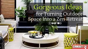 a zen retreat