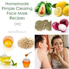 homemade pimple clearing face mask