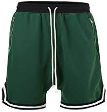 HANGJIA Men Mesh Drop <b>Crotch</b> Shorts <b>Double</b> Side Zipper Hip ...