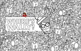 Wheres Wally Coloring Pagesl