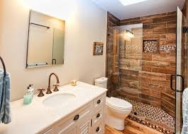 Image of: Small Bathroom Remodel Modern Style
