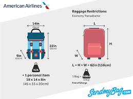 American Airlines Fare Chart American Airlines Baggage Allowance For Carry On Checked