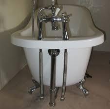 how to install a clawfoot bathtub after the plumbing aquatic a2 bathtub installation