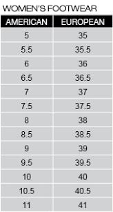 Dkny Size Chart