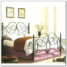 Queen Size Metal Bed Me For Headboard And Rails With Bedroom King ...