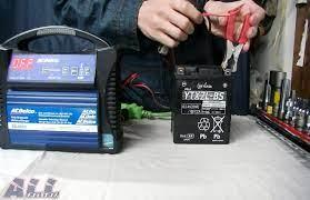 バイク バッテリー 充電