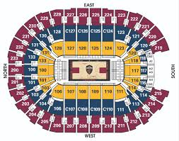 Cavs Virtual Seating Chart Exhaustive Quicken Arena Seating View Quicken Loans Arena