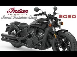 2020 new indian scout bobber sixty