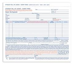 Blank Bill Of Lading Forms Custom Amazon Adams Bill Of Lading Short Form 4848 X 4848 Inches 48
