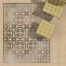 Bathroom Tile Wallpaper Hybrid Between A Wallpaper And A Tile Pattern Decotal Tiles