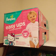 Pampers Girls Easy Ups (pull ups) Find more Ups) for sale at up to 90% off