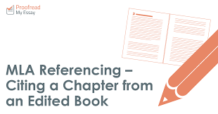 referencing citing a chapter from an edited book mla referencing citing a chapter from an edited book