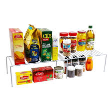 Kitchen Organizer Ybm Home Expandable Kitchen Counter And Cabinet Helper Shelf
