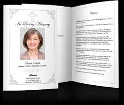 Memorial Service Program Sample Funeral Programs