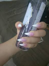 beautiful ombre pink white sti nails enjoi nails in chandler az