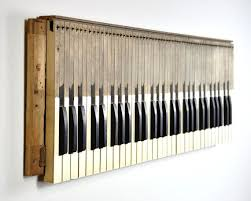piano keyboard wall art