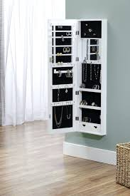 jewelry organizer wall over the door mirror cabinet jewelry organizer holder jewelry storage mirror wall mount