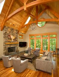 Timber Frame Timber Frame Home Interiors | New Energy Works | home ideas |  Pinterest | Interiors, Room and House