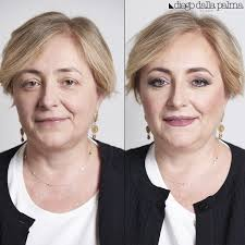 makeup for over 50 before after by allapalma vivianaveglia mua
