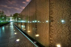 one of the most memorable experiences for me personally was when dave and i headed down to the vietnam memorial with my father being a vietnam veteran