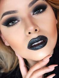steal this look with wet n wild s fergie perfect pout lip color in pagan angel black lipstick makeuplipstick