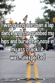 Nose in her ass crack lesbian