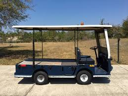 flatbed utility cart. Fine Utility Rear Seats Makes Larger Flat Bed Space 6 Brand New Batteries Speeds Up To  16 Mph Distance Range 24 Miles Per Charge Load Capacity 2250 Lbs And Flatbed Utility Cart 8