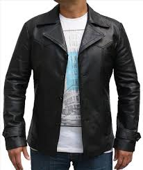 men fashion leather jacket master