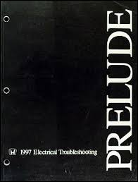 1997 honda prelude electrical wiring diagram 1997 1997 1999 honda prelude electrical troubleshooting manual original on 1997 honda prelude electrical wiring diagram