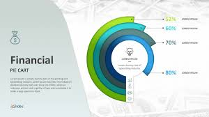 Financial Pie Graphs Templates Free Powerpoint Templates