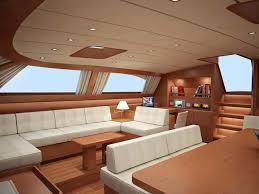 Boat Interior Design Ideas interiors of luxury yachts the baltic 112 sailing yacht nilaya saloon interior design rendering