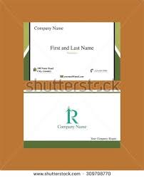 Name Card Unique Business Card R Letter Logo Stock Vector 44 Shutterstock
