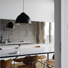 modern white and black kitchens. Small Kitchen Design And Decoration Using Large Dome Black Pendant Lamp Shades Including Modern White Kitchens H