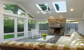 Sunroom With Fireplace Designs Sunroom With Fireplace Amazing Fireplace Doesnut Mean You Have To