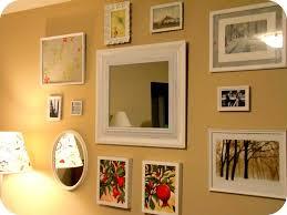 Picture Frame Wall Arrangement Ideas