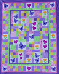 Best 25+ Bed quilts ideas on Pinterest | Blue quilts, Quilt ... & TWIN Quilt PATTERN - PDF - twin size bed quilt - child - girl - garden Adamdwight.com