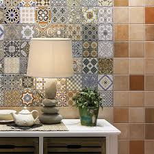 Moroccan Style Kitchen Tiles Patterned Tiles Ebay