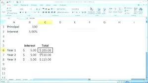 Simple Interest Amortization Schedule Excel Table Car Loan Auto