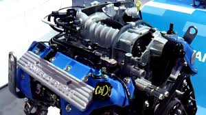 ford 5.4 liter supercharger engine - YouTube