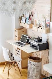 diy office decorating ideas. 49. Wooden Simplicity Diy Office Decorating Ideas