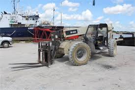 Ingersol Rand Forklift Ingersoll Rand Model Vr 642c Telescopic Boom Rough Terrain Forklift
