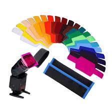 Lighting Gels Walmart 20pcs Photographic Speedlite Flash Color Gels Universal