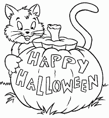 Get them color these free printable halloween pumpkin coloring pages. Free Printable Halloween Coloring Pages For Kids